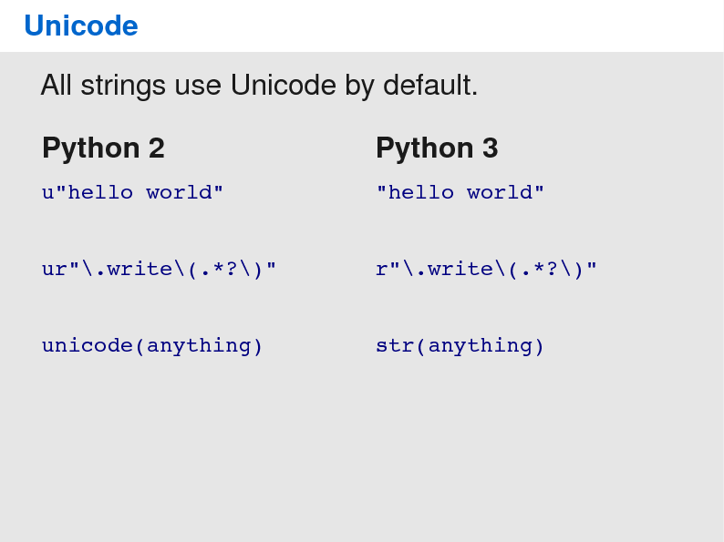 Porting your code to Python 3